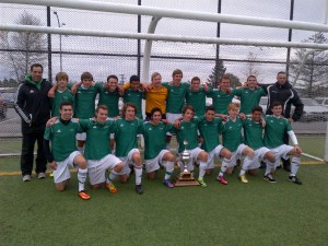 Congratulations to the Senior Boys Soccer team who beat Reynolds 1-0 to capture their first Island title since 2004!