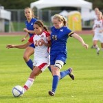Oak Bay Grad Elise Butler in action for the UVic Vikes