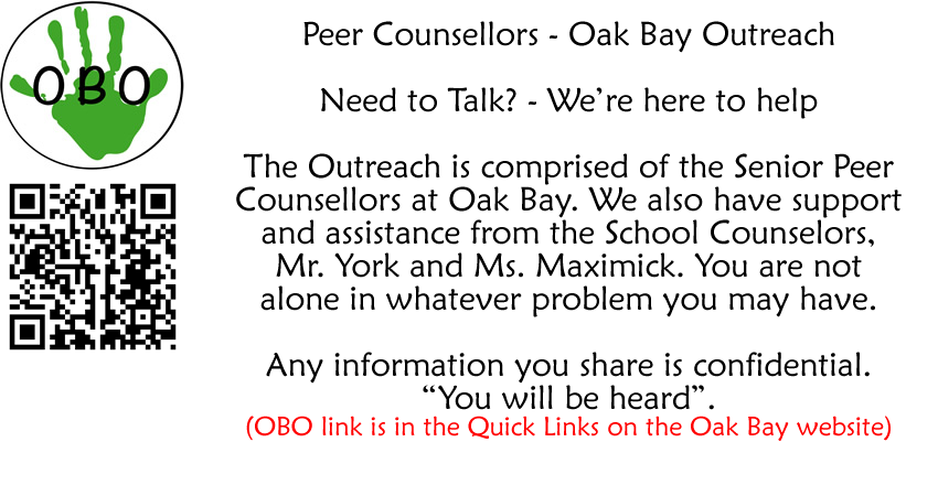 Oak Bay Outreach – Sr. Peer Counselling