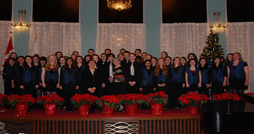 Sr. Choir at Government House
