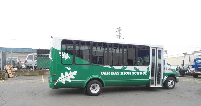 New Oak Bay Bus