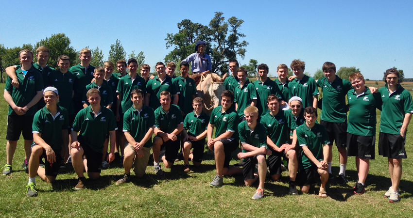 Oak Bay Rugby Team – Argentina – Spring Break 2014