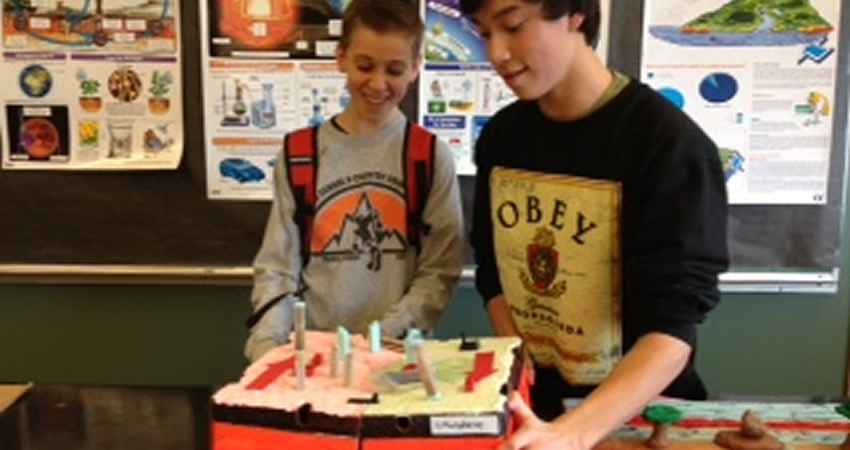 Grade 10 Science – Tectonic Plate Model Building