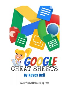 Google cheet sheets cover page